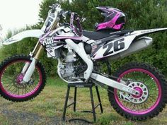 Dirtbike and I want this one we can be twins!