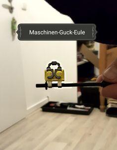 Die Maschinen-Guck-Eule