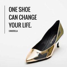 Una scarpa può cambiarti la vita. Cenerentola  www.giorgiofabiani.it  #shoes #befab #giorgiofabiani #gold #golden #girl #girls #fashion #fashiongram #beautiful #style #heels