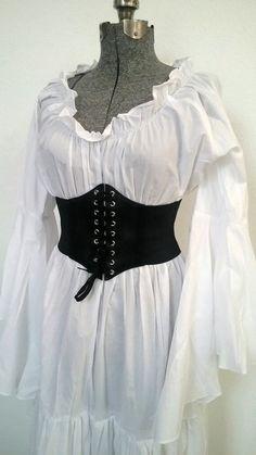 Corset Outfit, Corset Belt, Underbust Corset, Black Corset, Pirate Corset, Renaissance Corset, Female Poses, Aesthetic Clothes, Cute Outfits