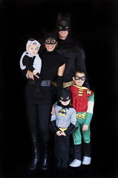 Batman Family Halloween Costumes