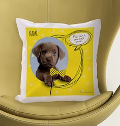Rachael Hale Personalised Cushion - Chocolate Lover
