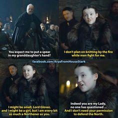 Lyanna Mormont, Game of Thrones.
