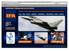 Web design for IFA Sheffield