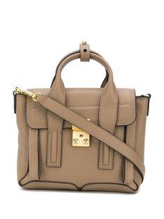$695.0. 3.1 PHILLIP LIM Shoulder Bag Pashli Mini Satchel #31philliplim #shoulderbag #handbag #satchel #leather #bags Phillip Lim Bag, Calf Leather, Leather Bags, Calves, Shoulder Strap, Satchel, Tote Bag, Purses, Mini