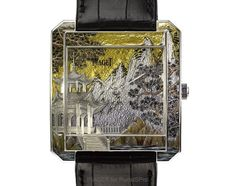 Piaget - PIAGET Mythical Journey Collection part 7: Miniature Enamel with Gold Silver Leaf