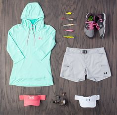 Check out the Under Armour Women's fishing line of apparel & gear #UnderArmour http://www.FitnessApparelExpress.com