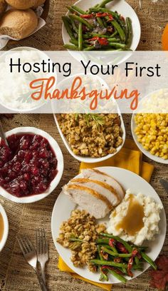 Tips For Hosting Your First Thanksgiving