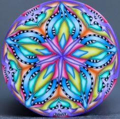 Polymer Clay Kaleidoscope Cane -'Once Upon' (35ee)