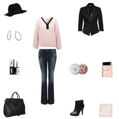 Casual Outfit: Pale Pink & Black. Mehr zum Outfit unter: http://www.3compliments.de/outfit-2015-10-02-h#outfit2