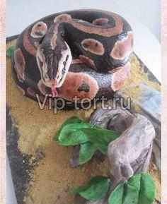 """Торт """"Змея и дерево"""""""