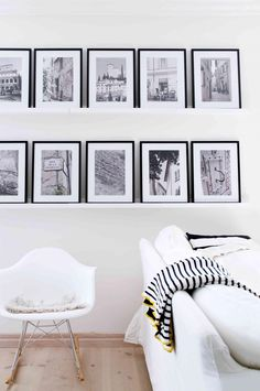 From 5 ways to create a picture gallery from insideout.com.au. Photography by Jonas Lundberg.