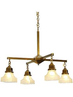 """Ruskin 4 Light Chandelier With 2 1/4"""" Fitters 