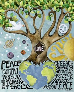 Peace And Love On Earth.