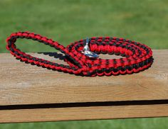 Paracord 3 4 5 OR 6 Dog Leash by CSJCreations on Etsy, $15.95