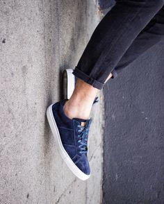 @ParkerYorkSmith wears the Royal sneaker in Matisse suede - $159. #beoneofthegreats #greatsbrand #greats