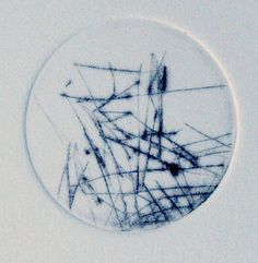 Alone, 2005, dry point