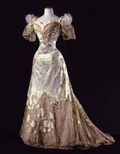 Vint-agge-xx — countess–olenska: Ball Gown Jean-Philippe Worth,...