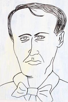 Baudelaire - Exposição Personnalités de France Aliança Francesa de Maceió/AL - maio/junho - 2013