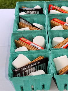 Smores Ideas - BBQ - Couples Shower - Bridal Shower or engagement party