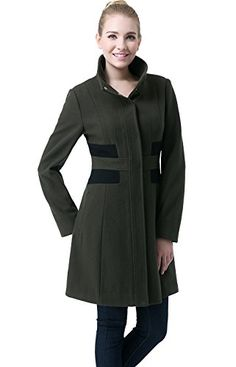 Shop a great selection of BGSD Women's Prim Color Block Wool Blend Coat X-Large. Find new offer and Similar products for BGSD Women's Prim Color Block Wool Blend Coat X-Large. Casual Coats For Women, Pea Coats Women, Winter Coats Women, Jackets For Women, Jumpsuit With Sleeves, Wool Blend, Fall Outfits, Women's Coats, Vests