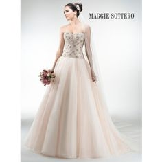 Maggie Sottero Lourdes 4MS971 - [Maggie Sottero Lourdes] - Buy a Maggie Sottero Wedding Dress from Bridal Closet in Draper, Utah