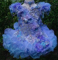 National Glitz Pageant Dress Custom Order by Nana Marie Designs from NanaMarieDesigns on Etsy. Glitz Pageant Dresses, Pagent Dresses, Little Girl Pageant Dresses, Pageant Wear, Girls Dresses, Beauty Pageant, Glitz Wedding, Toddler Pageant, Flower Girl Gown