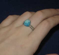 Minecraft Diamond Ring. $8.00, via Etsy.