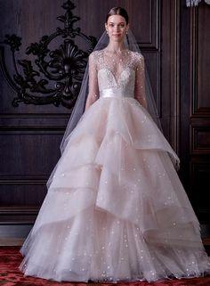 Свадебное платье от Моник Люльер