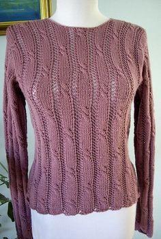 Ravelry: Fusion Teen Sweater pattern by Anniken Allis Baby Hats Knitting, Sweater Knitting Patterns, Cardigan Pattern, Lace Knitting, Knitting Designs, Knit Patterns, Knit Crochet, Mittens Pattern, Jumper Designs