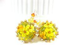 A hot summer day by Noa Vider on Etsy #summerday #sun #sea #beachjewelry #beachbag #yellow #fedorahat #crochetshorts