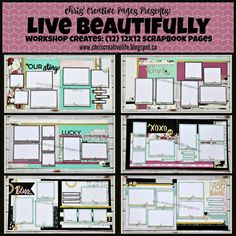 Chris' Creative Life: Preparation for National Scrapbook month has begun!
