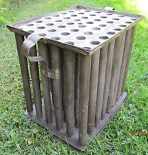 Antique 1800's 48 Hole Tin Candle Mold -- NICE ...~♥~    Also used in the 1700's on a smaller scale, usually 8-10