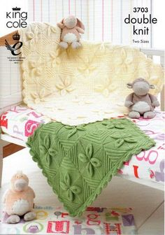 King Cole Knitting Pattern 3703 : Baby Leaf Design Cot and Pram Blankets by King Cole http://www.amazon.co.uk/dp/B00EBY486I/ref=cm_sw_r_pi_dp_bGvivb1SG7EZQ