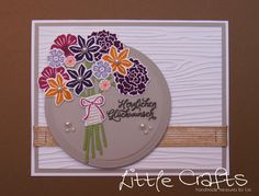 Little Crafts - Die Cut Flowerbouquet