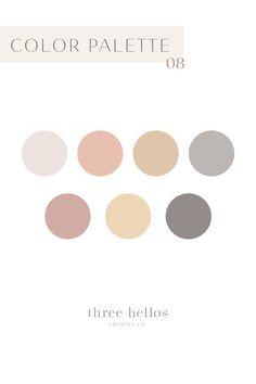 Spring Color Palette, Colour Pallette, Peach Palette, Best Serif Fonts, Handwritten Script Font, Feeds Instagram, Color Psychology, Grafik Design, Color Theory