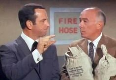 Missed it by THAT much ~ Get Smart, what a great vintage television show!