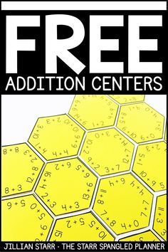 FREE Addition Centers to help your students practice their addition math facts, strategies, and build fact fluency. A mix of games, logic puzzles, and hands on activities that are perfect for Kindergarten, First and Second grade math centers and stations!