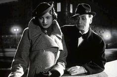 "Ingrid Bergman and Gosta Ekman in the original Swedish version of ""Intermezzo"" (1936)"