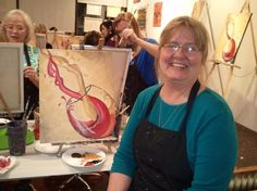 Learning to Paint - an Excellent Excuse for Wine River Walk, Learn To Paint, Paper Shopping Bag, Hobbies, Wine, Learning, Decor, Fashion, Learn Painting