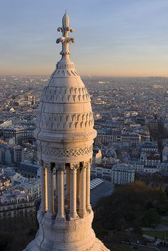 Sunset over Paris from Sacre-Coeur