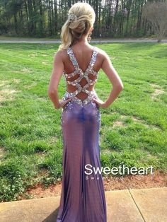 Backless Long Prom Dresses, Formal Dresses,Evening Dresses #prom #promdress