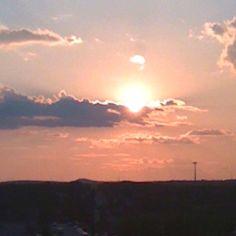 San Antonio sunset!