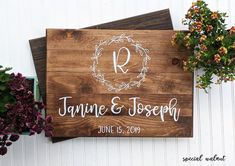 Rustic Wedding Welcome Sign Wood Wedding Signs Wood Wedding Decorations Rustic Wedding Decor Personalized Welcome Sign Photo Wedding Signs Wood Wedding Signs, Wedding Welcome Signs, Rustic Wedding, Wedding Decor, Rustic Bathroom Decor, Rustic Decor, Bathroom Ideas, Bedroom Decor, Bathroom Designs
