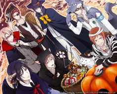 k gakuen holloween Missing Kings, Suoh Mikoto, K Project Anime, Return Of Kings, Anime Halloween, Anime Couples Manga, Hot Anime Guys, Little Boys, Red And Blue