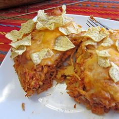 Mexican Chicken and Chili Casserole