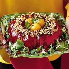 Thanksgiving Dinner Side Dishes: Cranberry Congealed Salad Recipes < 60 Spectacular Thanksgiving Side Dish Recipes - Southern Living