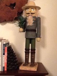 Park Ranger Nutcracker. National Park Service Christmas