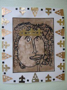 Le roi des bois - Le tour de mes idées Art For Kids, Crafts For Kids, Directed Drawing, Ecole Art, Mish Mash, Prince And Princess, Art Plastique, Larp, Tour