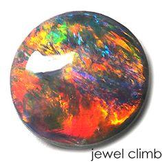 ブラックオパール1.26CT Black Opal 1.26ct Birth Stones, My Birthstone, Mineral Stone, Australian Opal, Gem Stones, Black Opal, Natural Healing, Fossils, Geology